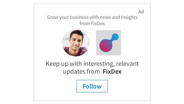 produkty reklamy, LinkedIn