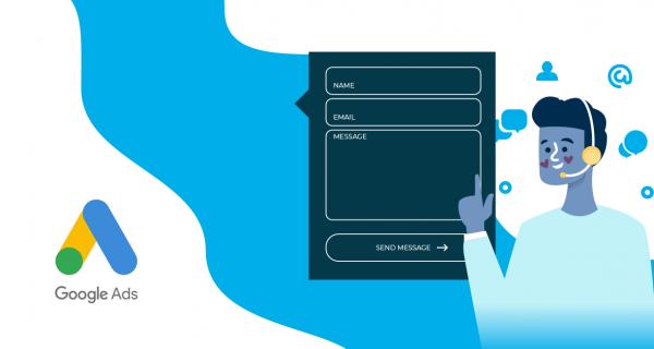 Formularz kontaktowy - rozszerzenie Google Ads