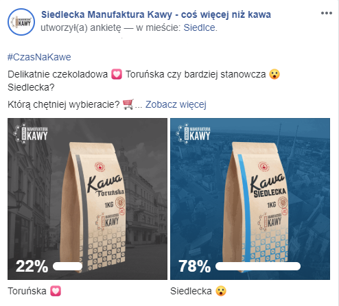 Ankieta na Facebooku