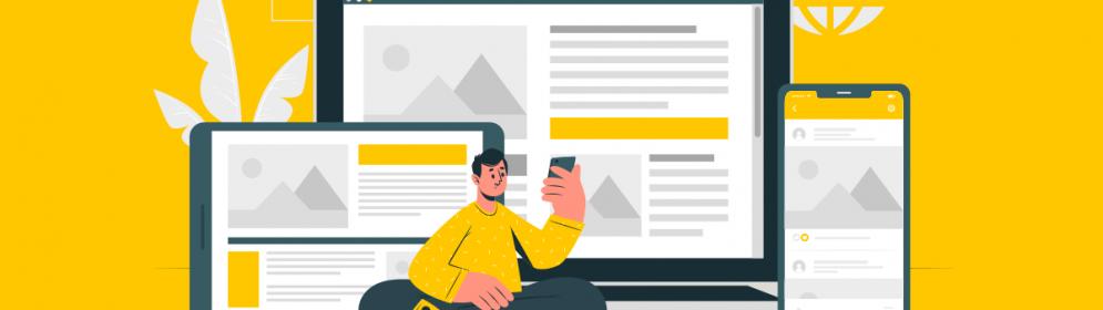 Strona WWW - wersja desktop i mobilna - różnice