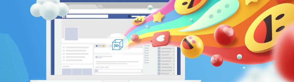 Jak utworzyć post 3D na Facebooku?