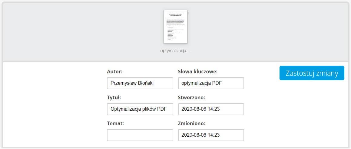 Metadane PDF
