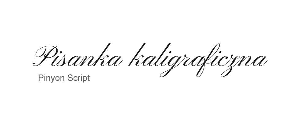 Pisanka kaligraficzna