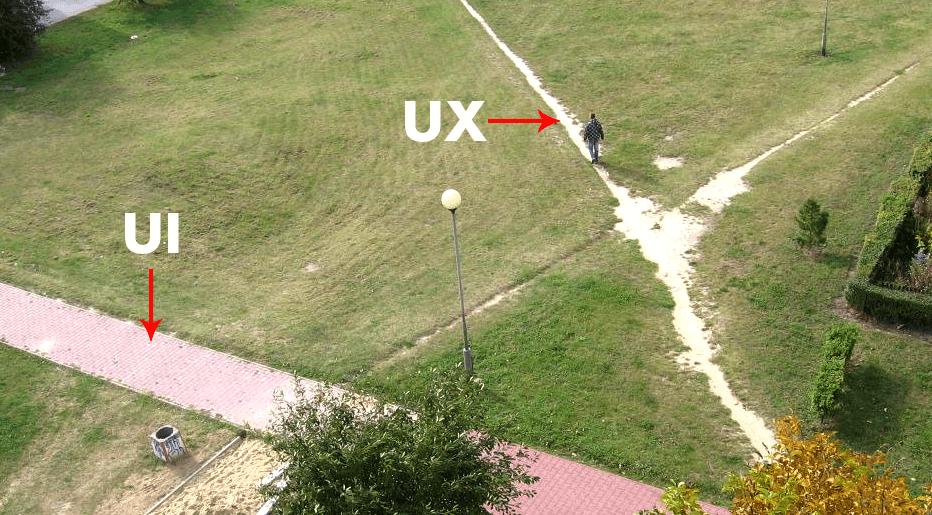 UX i UI na przykładzie parku
